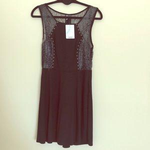 Sparkle & Fade Black Dress